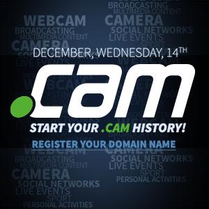 .CAM a fost lansat pentru publicul larg pe data de 14 Decembrie 2016